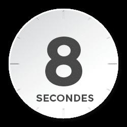 Compteur 8 secondes